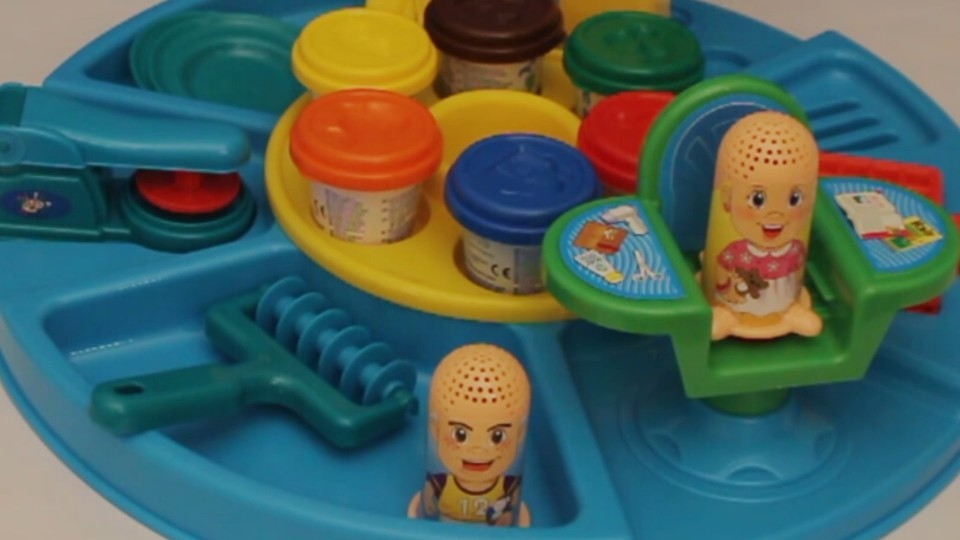 Unboxing Toys Dough Go Around Set for Kids