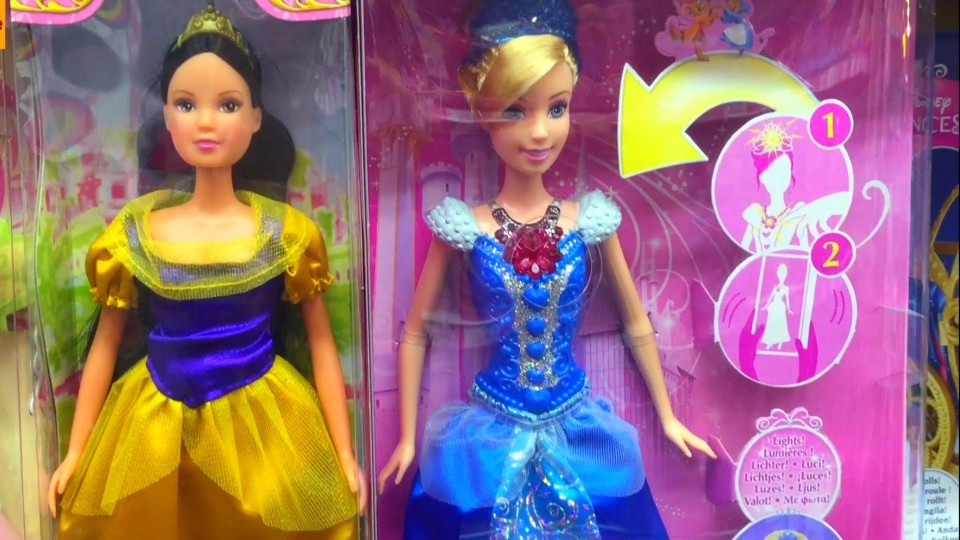 Dolls in the Children's toy store for Kids