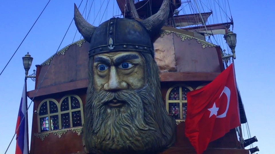 Pirate Ships for Children and Adults (Turkey — Alanya)