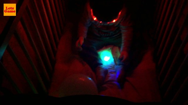 Playing with Luminous Balls Toys for Kids