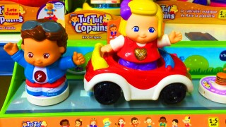 Toys Cars in the Children's Toy Store