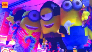 Minions and many different Toys