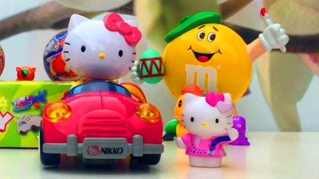 Hello Kitty Surprise Eggs Toys