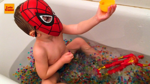 Spider-Man Bath with Orbeez