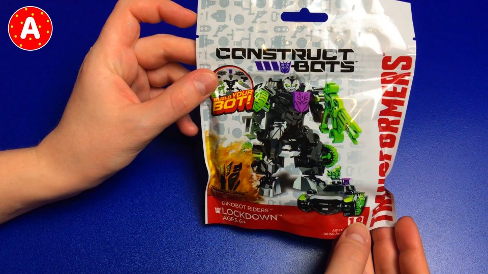 Construct Bots Transformers Dinobot Riders Lockdown 6+ Toys