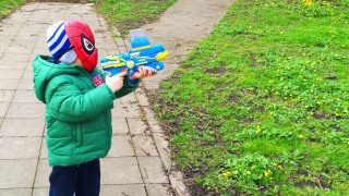 LittleBoy Adam Spider-Man Vs Thief
