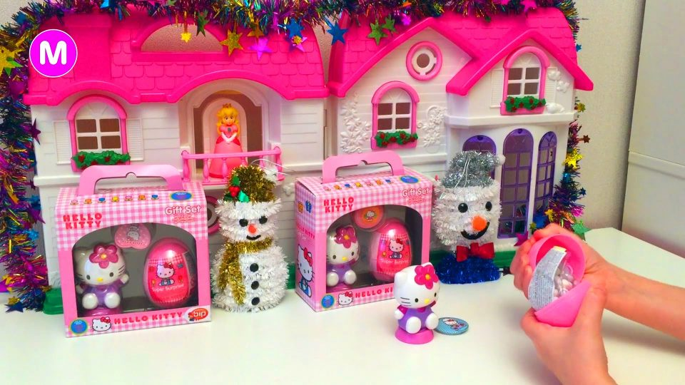 Opening Surprises Hello Kitty Toys