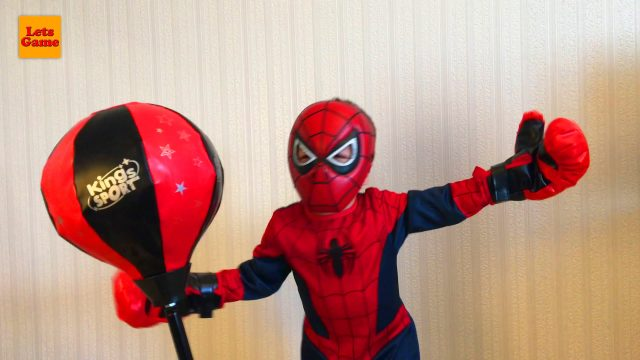 Spider-Man Little Boy Adam Boxing