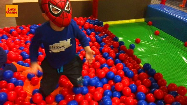 Spider-Man and Playroom for Kids