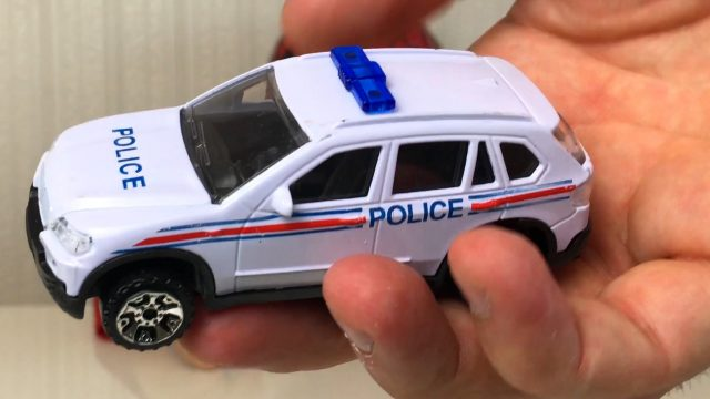 Unpacking Police Cars Toys Set with LittleBoy Adam Spider-Man
