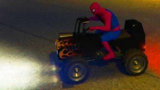 Spider-Man et Véhicules tout Terrain