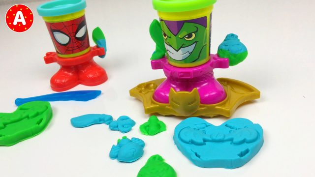 Plasticine Play-Doh Spider-Man