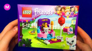 Unboxing Lego Friends Toys for Girls with LittleGirl Manina