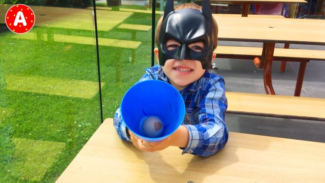 Batman LittleBoy Adam Have Fun