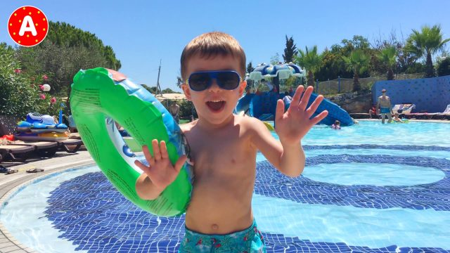 Little Boy Adam Having Fun in Turkey #1