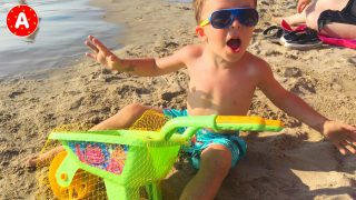 Little Boy Adam Having Fun in Turkey #11