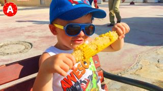 Little Boy Adam Having Fun in Turkey #12
