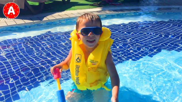 Little Boy Adam Having Fun in Turkey #3