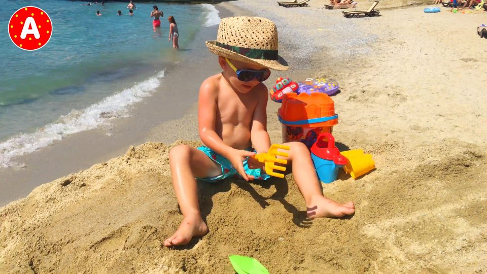 Little Boy Adam Having Fun in Turkey #4
