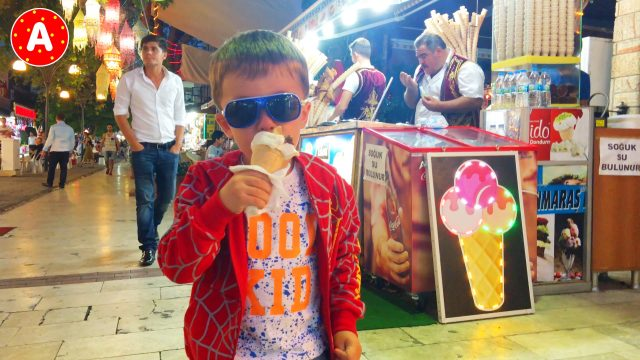 Little Boy Adam Having Fun in Turkey #7