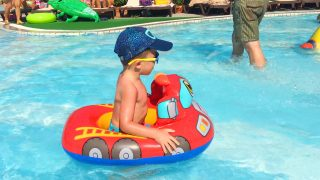 Little Boy Adam Having Fun in Turkey #8