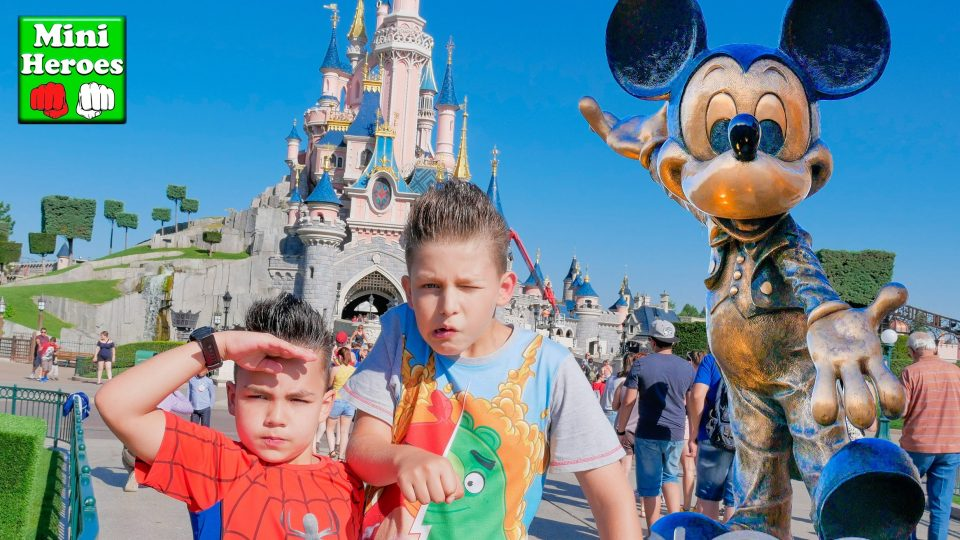 Our trip to Disneyland Paris 2016, with Little Spiderman